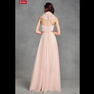 White by Vera Wang Dresses - White VERA WANG Chiffon Halter Tulle Bow Dress. 6